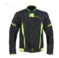 Wholesale off road armor jacket resale online - Riding Tribe Motorcycle Jacket Motocross Off Road Racing Coat Biker Clothing Protective Gear Armor Summer Breathable Jackets