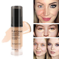ingrosso oculare trucco occhio cerchi scuri-SACE LADY Face Concealer Cream Cover Completa Makeup Liquid Facial Corrector Base impermeabile Make up per Eye Dark Circles Cosmetic