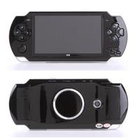 4,3-zoll-spiel mp5 großhandel-10000 arten spiele handheld-spielkonsole 4,3 zoll bildschirm mp4 player MP5 spieler echte 8 GB unterstützung für psp-spiel mit kamera video e-book