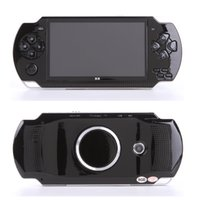 Wholesale mp5 video camera resale online - 10000 kinds games handheld Game Console inch screen mp4 player MP5 game player real GB support for psp game with camera video e book