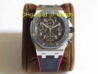 42mm ring großhandel-Hot Sports Herrenuhr Cal.3126 Automatische Armbanduhr Chronograph V2 Keramikring Kautschukband Durchmesser 42mm Hochwertige Luxusuhren