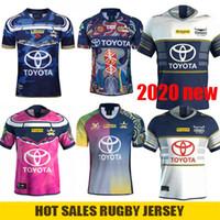 kadın formaları toptan satış-2020 Yeni KUZEY QUEENSLAND COWBOYS Rugby Jersey Kovboylar Erkekler Kadınlar Yerli Savunma Formalar Johnathan Thurston 2019 Takdirname Premiership