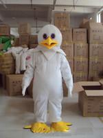 Wholesale christmas cartoon mascot online – ideas N2019 Factory direct sale white eagle Mascot Costume Fancy Dress Adult Size Cartoon Dress eagle brids Mascot Halloween Christmas Party Dress