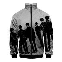 Wholesale korea fashion clothing men for sale - Group buy GOT7 KPOP Nope Funny Zipper Sweatshirt Casual Hoodies New Fashion Korea style New Anime YoungJae BamBam Clothes Sweatshirt