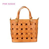 sacs en cuir tanné végétal achat en gros de-sacs fourre-tout concepteur de rose sac à bandoulière femmes vente chaude BRW sac à main légume main creux en cuir tanné pack mère tricot