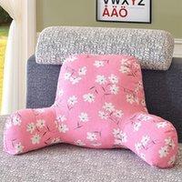 weiße taillenunterstützung großhandel-Neue Kissen Rückenkissen mit Armstütze Bett Leserast Taille Stuhl Autositz Sofa Rastlendenkissen 13 Stil