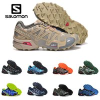 Wholesale sport fences for sale - Group buy Salomon Speed Cross III CS black blue orange red Outdoor Shoes Breathable Man Athletics Mesh Fencing Shoes sports sneaker Running Shoes