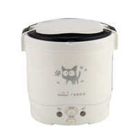 New 1l Electric Mini Multicookers Portable Rice Cooker Used In House 220v Or Car 12v Truck 24v Multicookings C19041901