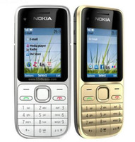 Wholesale phone 3g mp4 for sale - Group buy Refurbished Original Nokia C2 Unlocked inch Screen Bar Mobile Phone GSM WCDMA G MP Camera FM MP3 MP4 Cell Phone
