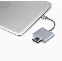 Wholesale hi speed usb adapter resale online - XQD USB Card Reader Converter Adapter Professional XQD Card USB3 Camera Reader MB s Hi Speed