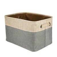 корзины с ящиками оптовых-1 шт. удобные практичные Моды полезные прочный сумка для хранения, содержащие коробки хранения корзины складной Box семейные принадлежности