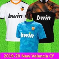 ingrosso pullover di calcio migliore della tailandia-Novità 2019 2020 Valencia cf Maglia da calcio terza Camiseta equipacion del Valencia 19 20 Migliore maglia da calcio di qualità THAILANDIA