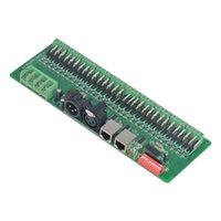 dmx 24v dimmer al por mayor-Freeshipping tira de LED 30 canales DMX 512 rgb controlador DMX decodificador dimmer controlador DC9V-24V