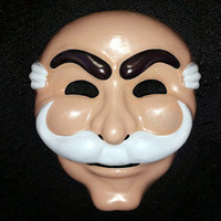 Wholesale white masks for sale - Group buy Mr Robot Fsociety Mask White Anonymous Team Evil Hacker Group V Vague Recollection Anonymous in Entertainment TV for adults
