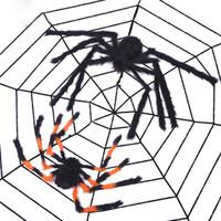 grande casa de brinquedo venda por atacado-Adereços de Aranha do dia das bruxas Aranha Grande Casa Assombrada Decoração Bar Decoração Engraçado Brinquedos Tricky Halloween toy DHL frete grátis