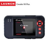 Wholesale X431 Creader VII Plus OBD2 Scanner Diagnostic Tool Auto Fault Code Reader Scaner Engine ABS SRS Diagnostics Scan Tools