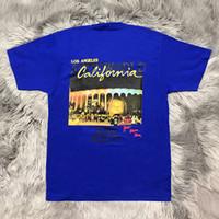 ingrosso magliette stampate da serpente divertente-Girocollo manica corta TSA Mens magliette di modo Abbigliamento casual World Tour Concerto Abbigliamento