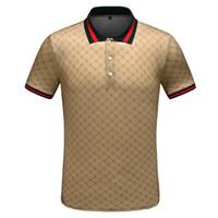 Wholesale germany brand logos for sale - Group buy Fashion LOGO Brand Men s Polo Shirt Germany famous Designer Summer short sleeve Man Lapel Tees gg Luxurys size m xl