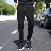 Wholesale heavyweight jerseys resale online - MRMT Brand Men s Trousers Loose Large size Casual Pants for Male Warm Pure Cotton Trouser