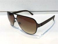 luxus designer eyewear für männer großhandel-Luxus Designer Sonnenbrillen für Männer Modedesigner Sun Glass Oval Frame Beschichtung Spiegel UV400 Objektiv Kohlefaser Beine Sommer Stil Brillen