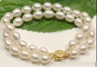 Wholesale Fast New Real Fine Pearl Jewelry hot mm south sea White Pearl Bracelet k