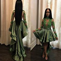 497e2bd6cde1 Wholesale see through t shirt dress for sale - African Hunter Green Black  Girls High Low