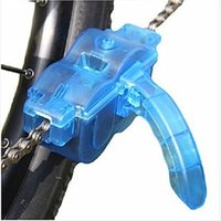 Wholesale bike chain scrubber for sale - Group buy 2018 New Catazer Bicycle Chain Cleaner Tool Cycling Bike Washing Machine Brushes Scrubber Wash Tools Bicycle Chain Maintenance