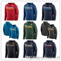 Wholesale gore tex xcr jacket resale online - Outdoor Wear Packers Texans Colts Chiefs Chargers Rams Dolphins Vikings Patriots Sideline Circuit Pullover Performance Jackets Hoodie
