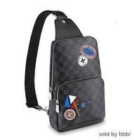 Wholesale hobo cross shoulder bag resale online - 2019 N41056 AVENUE SLING Handbag BELT BAG BAGS Hobo HANDBAGS TOP HANDLES BOSTON CROSS BODY MESSENGER Shoulder