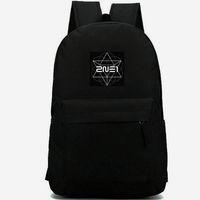 Wholesale two jack for sale - Group buy 2NE1 backpack Black jack daypack New evolution music print schoolbag Band leisure rucksack Sport school bag Outdoor day pack
