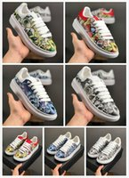 Wholesale shoe cake blue resale online - 2019 new Fashion lovers Genuine Leather walking shoes mens Luxury Designers Shoes womens small white shoes unisex cake bottom trainers
