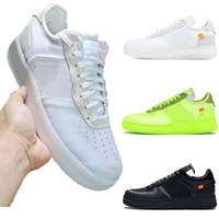 ingrosso scarpe da skate low-Nike Air Force 1 2019 nuovo Epacket Low Dunk forzato 1s Chicago Uomo donna Scarpe The Dove off Panda aragosta Bianco Original Authentic Limited Release 36-45