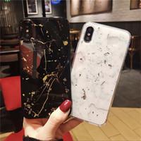 ingrosso caso di iphone di marmo-Per iPhone 11 PRO marmo MAX caso molle di TPU casi copertura posteriore della protezione per iPhone 11 8 PLUS XR XS MAX con il sacchetto di OPP
