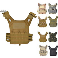 Wholesale wargame paintball for sale - Group buy Camouflage Tactical Vests Combat Hunting Molle Chest Rig Protective Vest Wargame Paintball Protective Vests