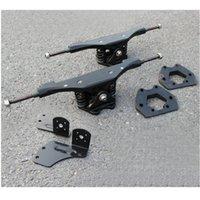 aluminiumdichtungen großhandel-1 Paar 11-Zoll-Elektro-Skateboard-LKW Aluminiumdichtung Motordichtung LKWs Elektro-Skateboard-Brücke Riserpad