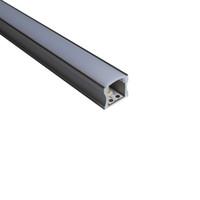 ingrosso lenti a soffitto-canale in alluminio a led profilo lineare in alluminio a led e canale a U a 60 gradi con lente per plafoniere o applique da parete 17mm * 14,5mm