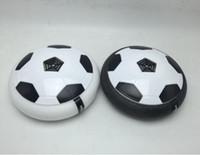 almofadas flutuantes venda por atacado-Acende-se Almofada de Ar de Futebol Novidade Crianças Brinquedo Bola Flutuante Ao Ar Livre Pairar Suspenso Ar Futebol Futebol Esportes Indoor Inutdoor Jogos