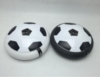 Wholesale floating ball light for sale - Group buy Lights up Air Cushion Football Novelty Children Floating Ball Toy Outdoor Hover Air Suspended Football Soccer Indoor Sports Inutdoor Games