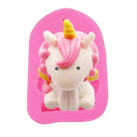 Wholesale fondant cake silicone molds for sale - Group buy DIY Silicone Cake Decorate Molds Fondant Mould Cartoon Horse Carrot Bird Shaped Pink Silicone Baking Mold Kitchen Cake Mould DBC VT0904