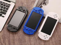 Wholesale handheld video game player console resale online - 10pcs PMP X9S Portable Handheld Video Game Console Player inch Screen Quad Core GB GB Classic PSP Arcade Games Store TV Out
