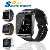Wholesale iphone wristwatch for sale – best DZ09 Smart Watch Portable Wristwatch Wristwatch SIM Watches TF Card for Iphone Samsung Android Smartphone Smartwatch PK Q18 V8