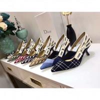 ingrosso gabbia calda-Più nuovo 2018 vendita calda oro argento colina crudele abbellito ala tacchi alti sandali di marca dorato gabbia sandali donne taglia 35-42