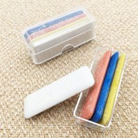 kutular tebeşir toptan satış-4 Adet / kutu Renkli Silinebilir Kumaş Terzi Tebeşir Terziler Tebeşir DIY Giyim Terzi DIY Yapma Dikiş Araçları