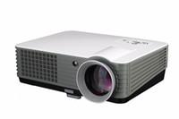 лучший полный 3d-проектор оптовых-4000 люмен проектор мультимедийный проектор для домашнего кинотеатра HDMI 1080P FULL HD LED проектор 3 года гарантии