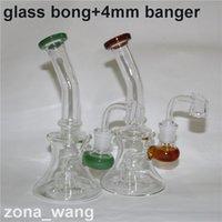 için uzun su boğa toptan satış-Cam Bong Dab Rig Su Boruları 7.4