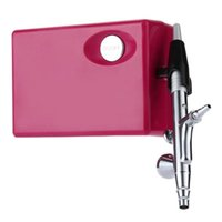 art peinture großhandel-Mehrzweck 0,4 Mm Airbrush Lackierpistole Kompressor Kunstlackierpistole Kit Set Elektrische Pistole Peinture Electriques
