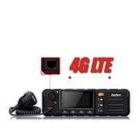 android para pantalla de coche al por mayor-4G tarjeta SIM coche coche móvil Transceptor Wifi Radio Android 7.0 4G LTE WCDMA Radio Pantalla táctil Transceptor GPS SOS