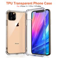 Wholesale iphone cases clear opp online – custom For iPhone iPhone X Soft TPU Phone Cases Shockproof Back Cover Transparent Case Soft Thicken Clear Anti knock with OPP pacakge