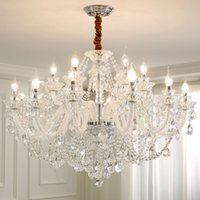 Wholesale home collection bedding resale online - Modern Lighting Chandeliers Home Decorators Collection Light Candelabros Crystal Pendant Chandellier Dining Room Lamps Bed Room Pendant Lamp
