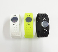 energie energie silikon armband armbänder großhandel-Silikon Evolution Band PB Loch Balance Armbänder Weiche Sport Energie Armbänder Grid Power Bangle Charm Armbänder 3 Farben